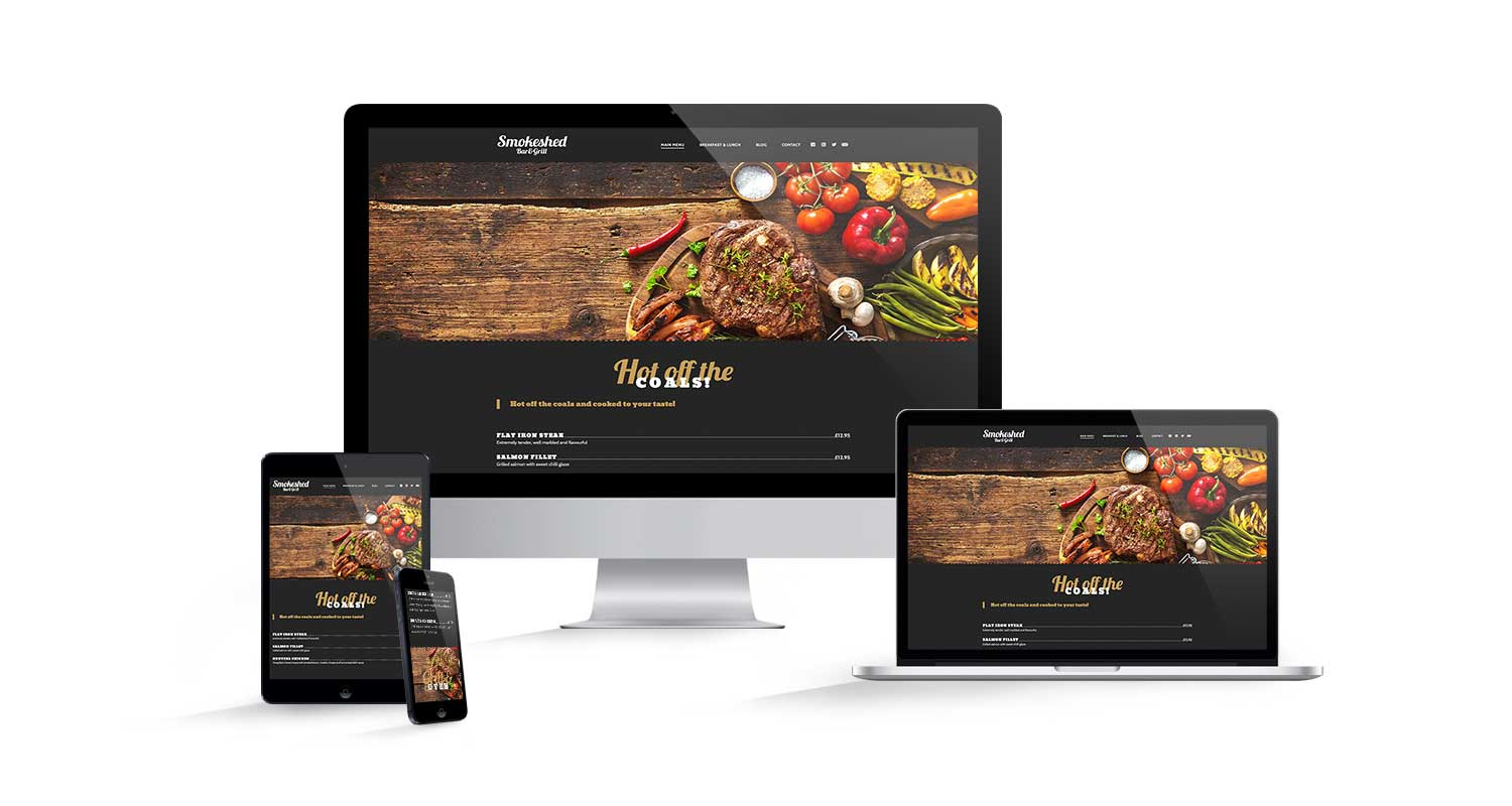 Restaurant Marketing Web Design Hoddesdon
